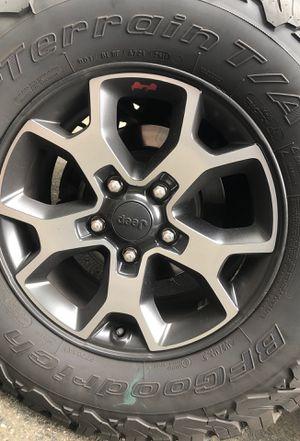 Jeep Wrangler JL Rubicon wheel center cap for Sale in Hillsboro, OR