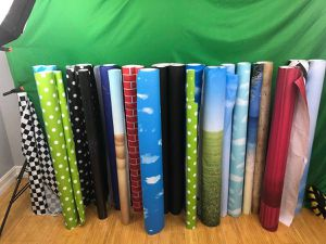 Lots of rolls of backdrop paper for photography or video for Sale in Hollywood, FL