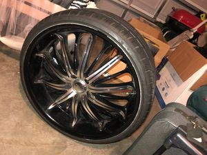 """SET OF 22"""" RIMS FORSALE! for Sale in Tampa, FL"""
