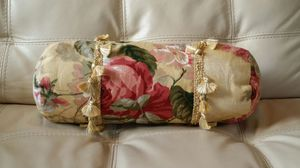 Handmade Decorative Roll Pillow for Sale in Silver Spring, MD