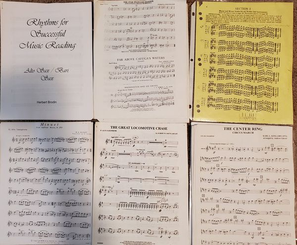Alto saxophone books & sheet music