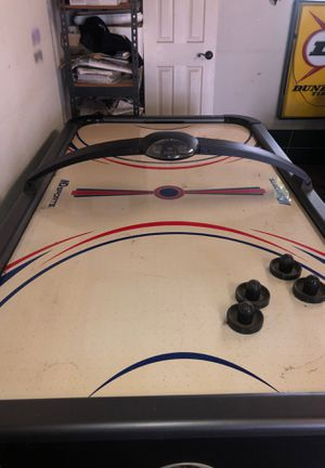 MD sports air hockey table working 7ft 4ft for Sale in Covina, CA