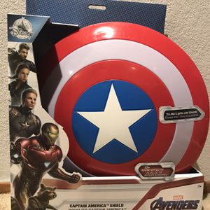 Disney Store Captain America Shield Lights And Sound Fx. Brand New. for Sale in Castro Valley, CA