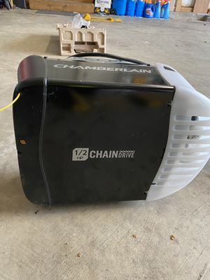 Chamberlain 1/2HP chain drive for Sale in Laurel, MD
