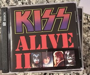 Lot of 8 Kiss CDs great condition. Kiss Alive!, Alive II,Greatest Kiss Destroyer, Kiss, Dynasty Rock and Roll over Love Gun for Sale in Raleigh, NC