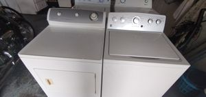 GE LG capacity size hydro wave washer and dryer set for Sale in PT ORANGE, FL