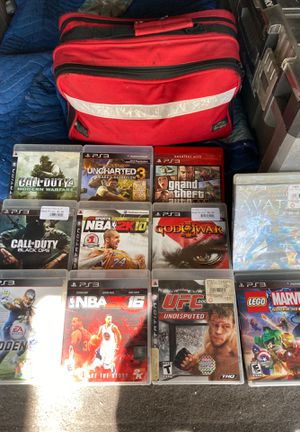 "PlayStation ""PS3 GAMES"" - Bundle for Sale in Tucker, GA"