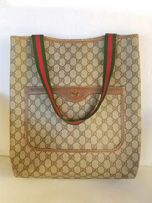 Authentic vintage Gucci tote handbag for Sale in Arlington, TX