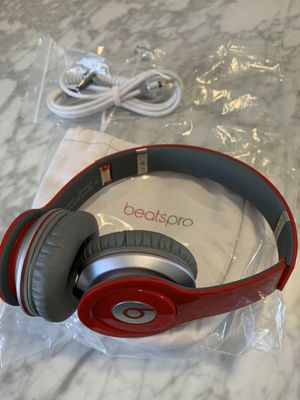 Beats by Dre - Solo HD (Product Red) Headphones for Sale in South Pasadena, CA