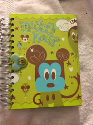 Mickey Mouse Disney Parks Spiral Bound Hard Cover Journal New for Sale in Joint Base Pearl Harbor-Hickam, HI