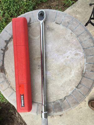 Proto 6014c 1/2 Interchangable head torque wrench for Sale in Victoria, TX