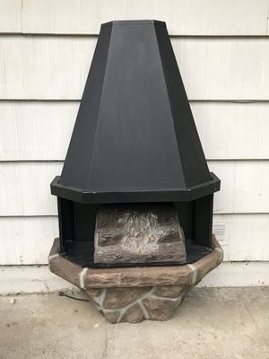 Mid-Century Electric Fireplace & Heater for Sale in Burien, WA
