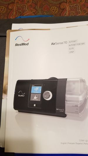 ResMed Airsense 10 CPAP machine with humidair heated humidifier for Sale in North Las Vegas, NV