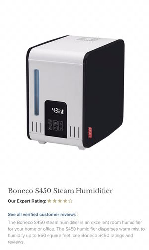 Bone o S450 steam humidifier used for Sale in Fort Washington, MD