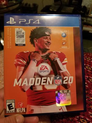 Madden 20 ps4 for Sale in St. Louis, MO