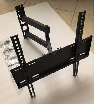 New in box 22 to 55 inches swivel full motion tv television wall mount bracket single arm for Sale in Baldwin Park, CA