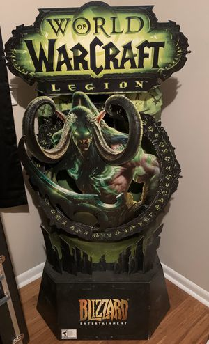 WoW Legion Cardboard Store Display for Sale in Leeds, AL