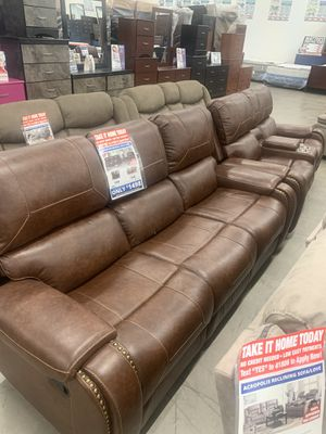 Winslow Reclining Sofa & Loveseat only $1399!! for Sale in Mesa, AZ