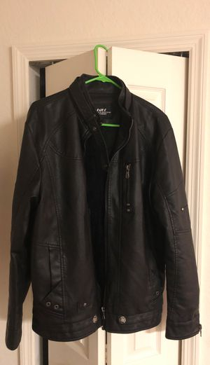 Men's leather motorcycle jacket brand new for Sale in Dunedin, FL