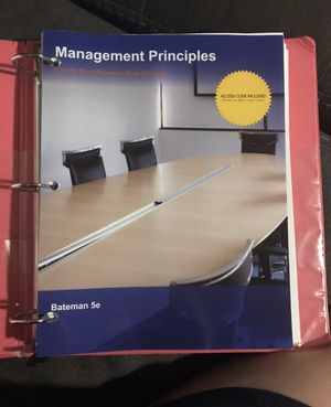 Management principles text book for Sale in Naples, FL