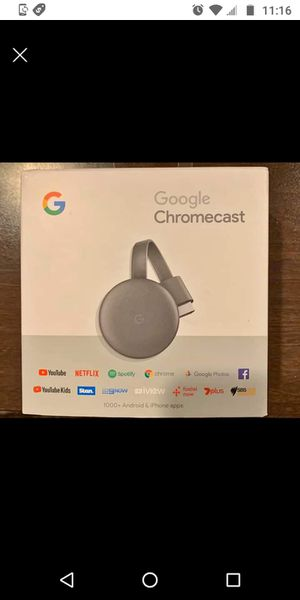 Chromecast new in box for Sale in San Diego, CA