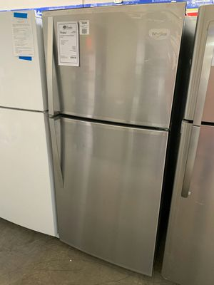 NEW! Whirlpool Stainless Steel 19 CuFt Top Mount Refrigerator Fridge..1yr Manufacturers Warranty👆Paradise Appliance for Sale in Gilbert, AZ