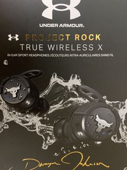 #52 Under Armour Project Rock True Wireless X In-car Sport Headphones for Sale in Hudson,  OH