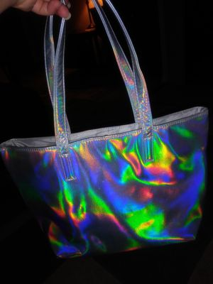 Silver reflective ulta tote bag for Sale in Westminster, CO