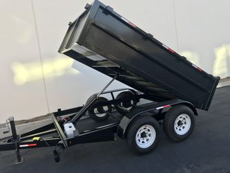 2019 Dump Trailer 8x10x2 for Sale in Los Angeles,  CA