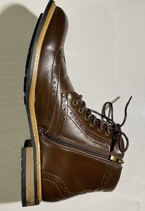 Men shoes high brown size 11 high quality NY for Sale in Miami, FL