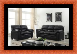 Black sofa and loveseat for Sale in Fairfax, VA