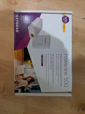 Netgear power line 500 WIFI extender for Sale in Encinitas, CA