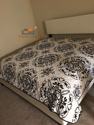 Brand new king size platform bed frame + mattress (final price) for Sale in Silver Spring, MD