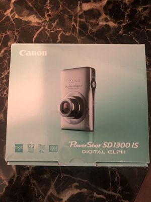 Canon power shot SD 1300is camera for Sale in Mesquite, TX