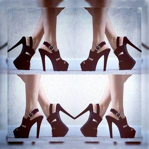 Justfab Teresa Black Heels for Sale in Miami, FL