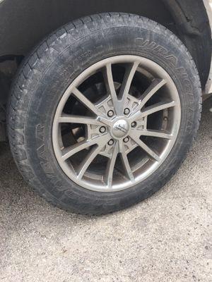 American racing chrome wheels for Sale in San Angelo, TX