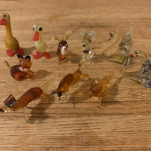 Blown Glass Miniature Animals From Ukraine for Sale in Chicago, IL