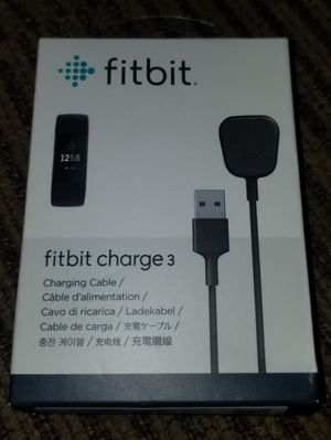 FITBIT Charging Cable for Charge 3 Activity Tracker FB168RCC - Genuine for Sale in Hawthorne, CA