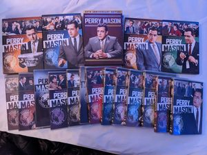 Perry Mason complete season plus 50th anniversary edition for Sale in Groesbeck, OH