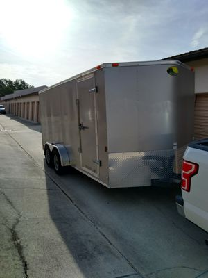 2016 16' enclosed dual axel trailer for Sale in Cape Coral, FL
