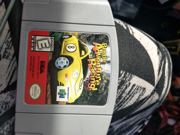 Nintendo 64 beetle adventure racing game