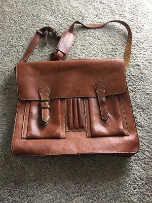 Leather messenger bag Colombian heavy cowhide purse for Sale in Tacoma, WA