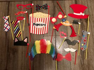 New kids size photo booth props for Sale in Glendora, CA