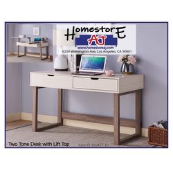 Two Tone Desk with Lift Top for Sale in Los Angeles,  CA