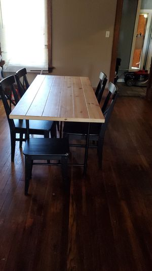 Ryggestad 6 chair table for Sale in Kansas City, MO