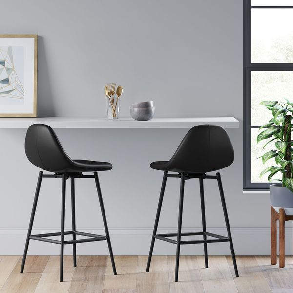 (SET OF 2) Copley Upholstered Bar Stool - Project 62