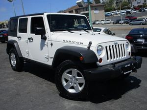 2009 Jeep Wrangler Unlimited for Sale in Daly City, CA