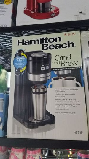 Brand new Grind and Brew coffee maker for Sale in Modesto, CA
