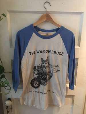 War on Drugs Tour Baseball Tee for Sale in Los Angeles, CA