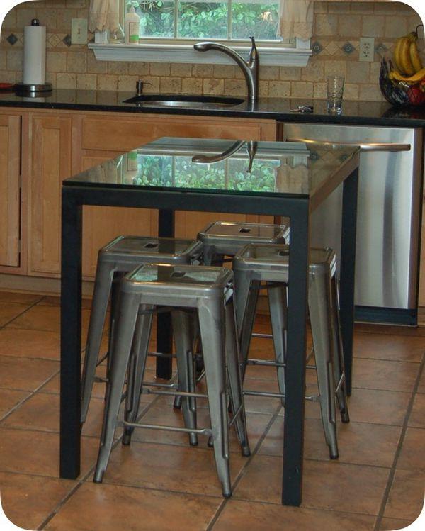 Crate & Barrel breakfast table